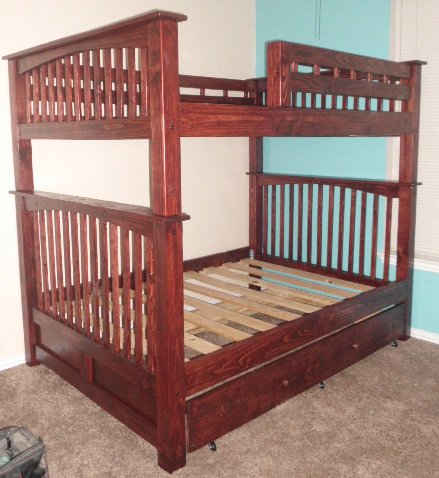 Our Mission style Bunk Beds Dallas Bunk Bed Dallas Fort Worth